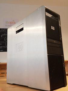 HP Z600 pour du travail ou pour du jeu vidéo !