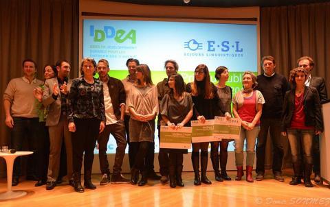 Concours Iddea; un candidat suivi par l'équipe de l'incubateur Essaim remporte le 3ème prix !