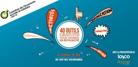 40 outils gratuits pour gagner en efficacité - 6 avril à 7h30