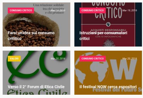 Italie: Nouvelle plateforme ESS - Economiasolidale.net
