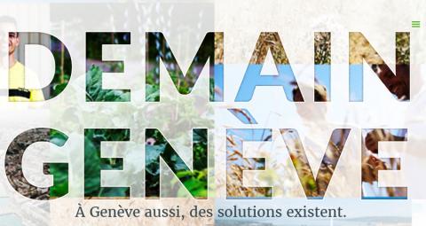 """Le projet """"Demain Genève"""" avance à grand pas"""