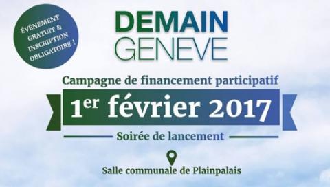 A Genève aussi des solutions existent. Soirée de lancement de la campagne de financement du film Demain Genève
