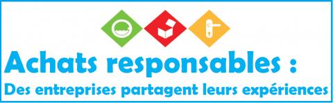 """Conférence sur les """"Achats responsables: des entreprises partagent leurs expériences"""" le 12 septembre 2013"""