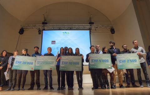 Féliciatations aux 4 gagnants du Prix IDDEA 2016
