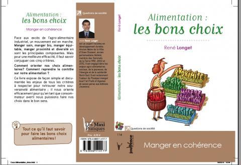 """Nouvelle parution: """"Alimentation les bons choix""""; éditions Jouvence"""
