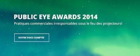 Public Eye Awards 2014
