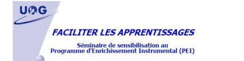 """Formation """"Le Programme d'Enrichissement Instrumental"""""""