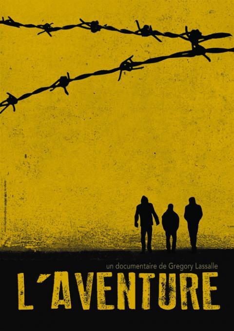 """Projection du film """"L'Aventure"""" de Gregory Lassalle sur des migrants en Grèce"""