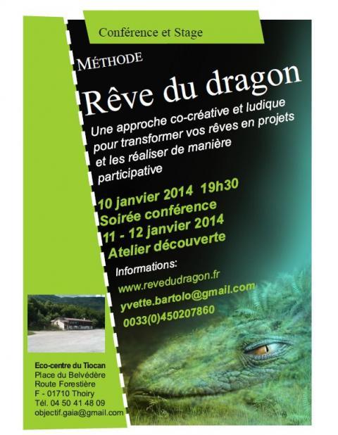 Conférence et atelier autour du rêve du Dragon