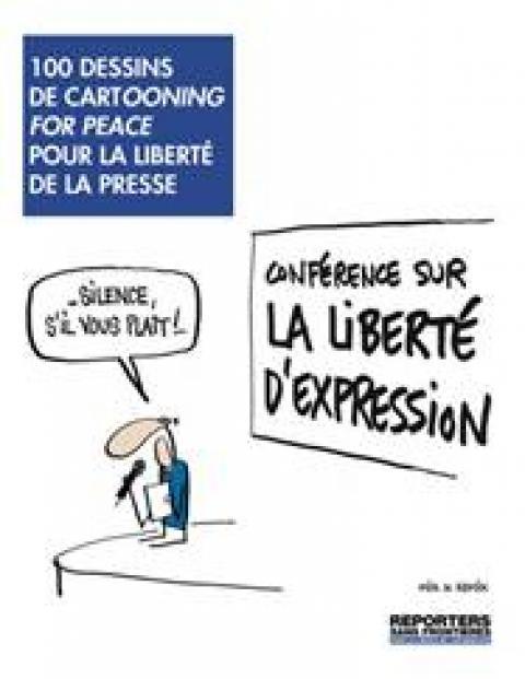 100 dessins de Cartooning for peace pour la liberté de la presse