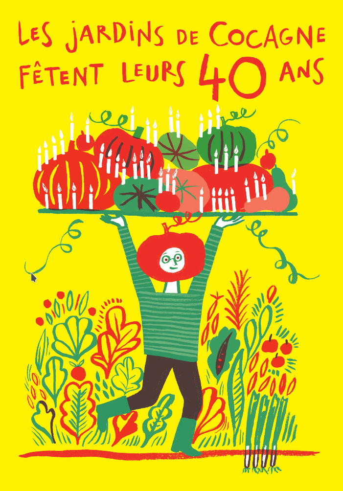 Les Jardins de Cocagne fêtent leurs 40 ans | APRES-GE