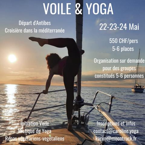 Croisière Voile & Yoga
