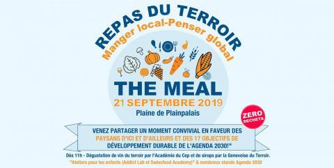 Venez partager The MEAL le samedi 21 septembre 2019 sur la Plaine de Plainpalais
