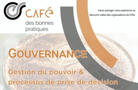 Café des bonnes pratiques - 21 novembre 2019 : Gouvernance