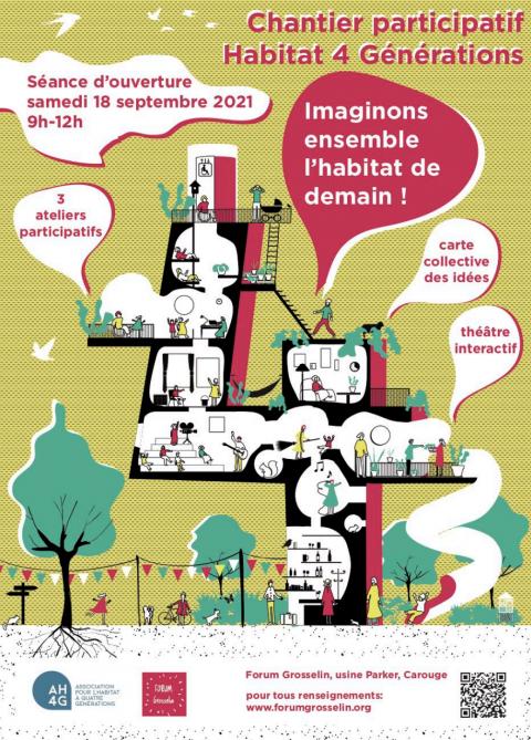 Chantier participatif - habitat 4 générations