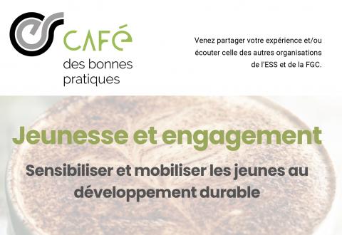 Café-débat des bonnes pratiques : jeunesse & engagement