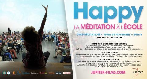 Happy, la méditation à l'école + discussion