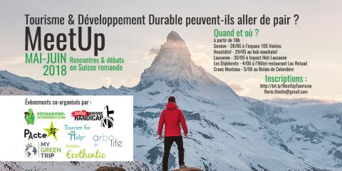 MeetUps Tourisme Durable en Suisse Romande