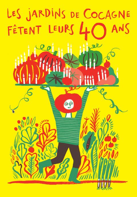 Les Jardins de Cocagne fêtent leurs 40 ans