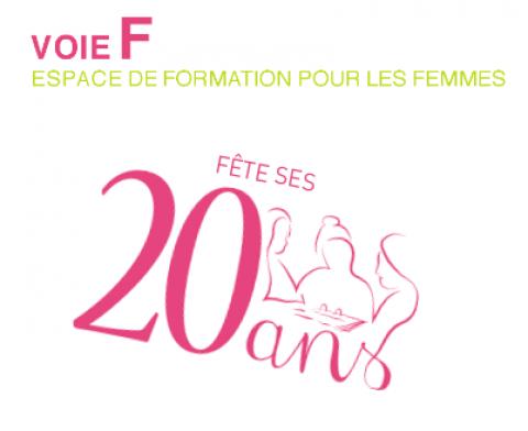 Voie F, espace de formation pour les femmes, fête ses 20 ans !