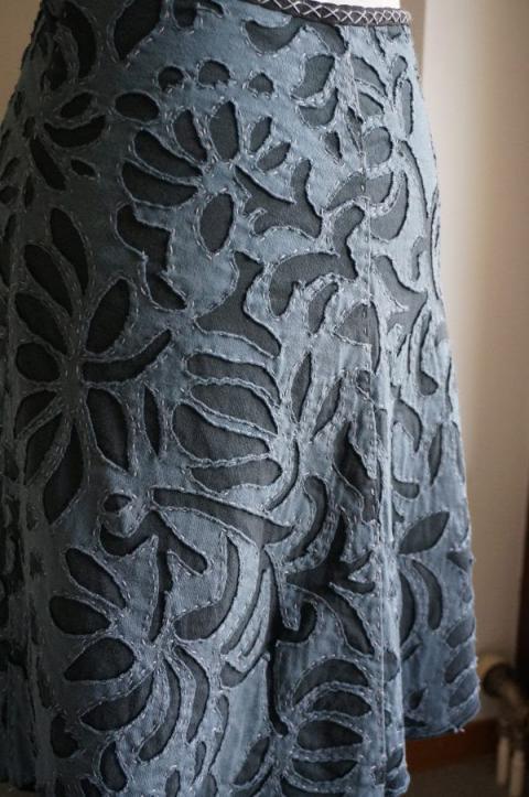 Stage Textile avec les créateliers : technique de l'appliqué inversé