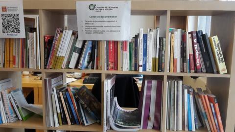 La bibliothèque de la Chambre de l'ESS est à votre disposition