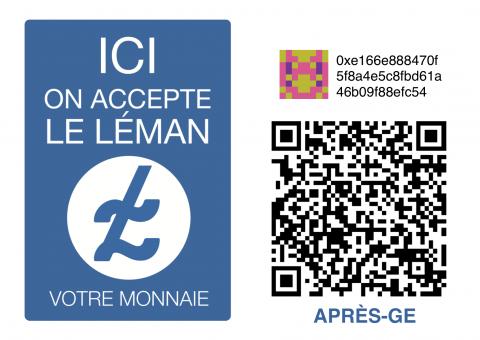La Chambre de l'ESS accepte désormais le Léman électronique ! Et vous ?
