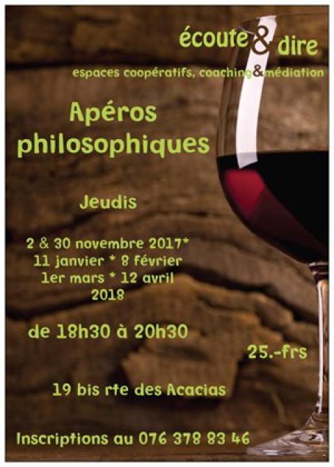 Apéros Philosophiques