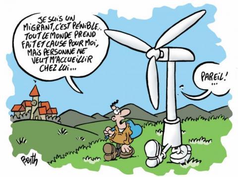 L'éolien signe la fracture entre deux visions de l'écologie