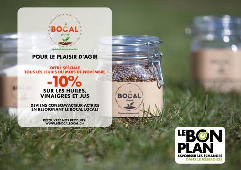 Le Bon Plan de novembre - Le Bocal Local, épicerie zéro déchet