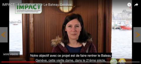 Crowdfunding pour la rénovation du Bateau Genève