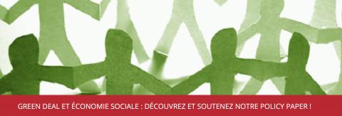 Pacte vert & économie sociale : Enjeux et perspectives