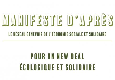 Manifeste d'Après : Pour un New Deal écologique et solidaire