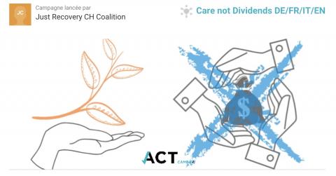 """Initiative """"Des soins, pas des dividendes"""""""