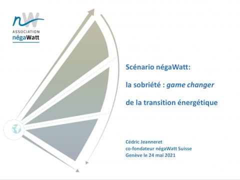 [DOSSIER] Scénario négaWatt: la sobriété : game changer de la transition énergétique