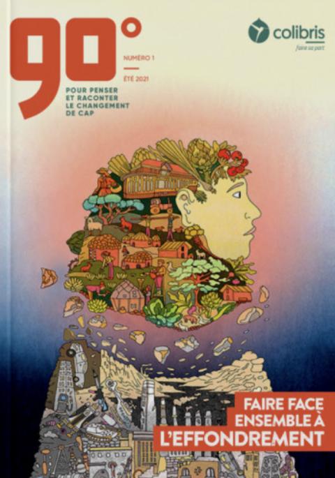 90°, la revue qui pense et  raconte le changement de cap
