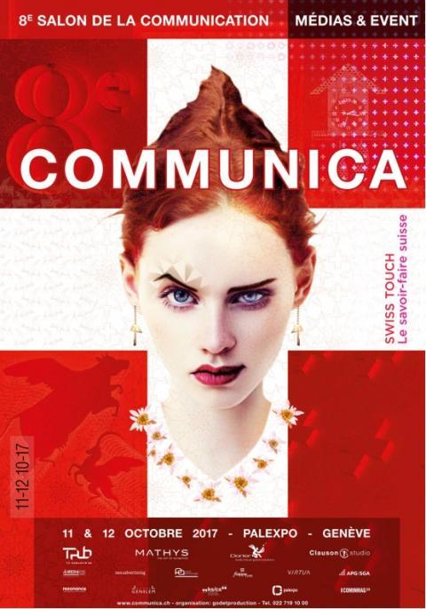 Retrouvez-nous au salon Communica les 11 et 12 octobre à Palexpo