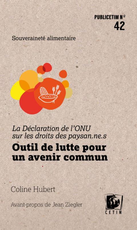 """Le livre """"La Déclaration de l'ONU sur les droits des paysan·ne·s"""""""