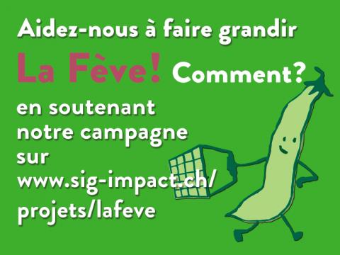 Soutenez le crowdfunding de La Fève