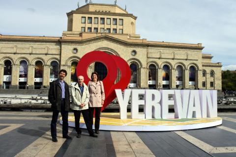 Une délégation de l'ESS genevoise en Arménie