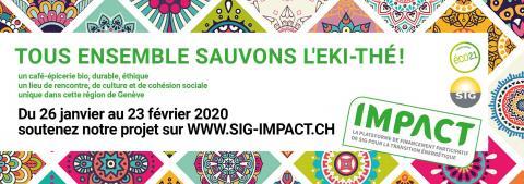 Lancement du crowdfunding pour sauver l'Eki-Thé à la Croix-de-Rozon