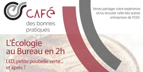 Café des Bonnes Pratiques : Écologie au bureau - 21 septembre