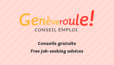 """Genèveroule propose un service gratuit """"Conseil emploi"""""""