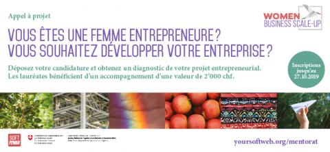 Appel à projets pour femmes entrepreneurs - Women Business Scale-Up