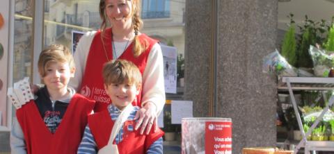 Vente de mouchoirs pour la solidarité les 2 et 3 mars à Genève!