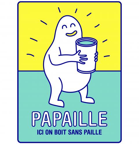 1 milliard de pailles jetées chaque jour - Opération Papaille !