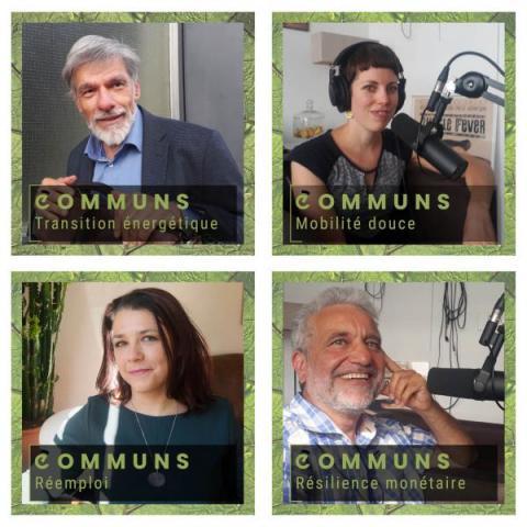 """Retrouvez les 4 premiers épisodes du podcast """"COMMUNS"""""""