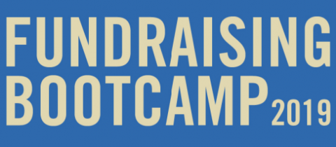 Fundraising Bootcamp 2019