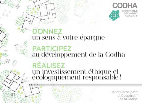 Participez au dépôt participatif à la CODHA